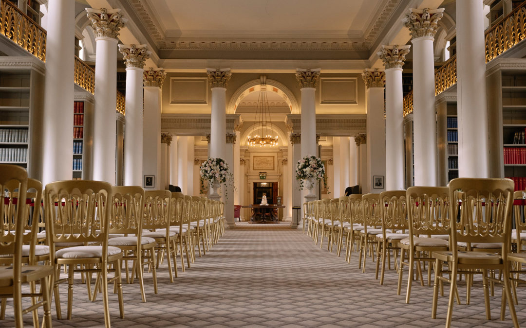 A late summer wedding at The Signet Library in Edinburgh