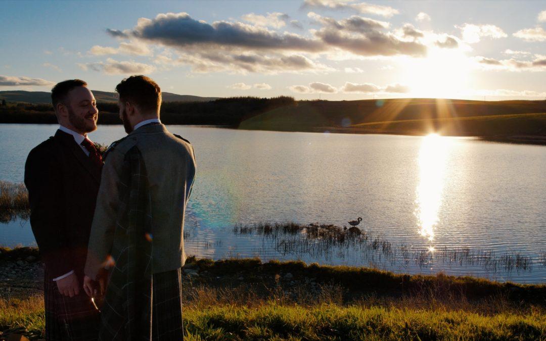 Lochside House   Winter Wedding