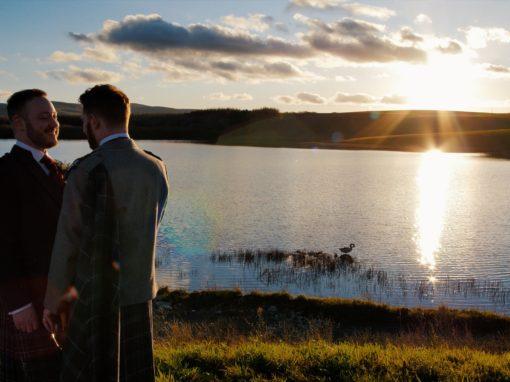 Lochside House | Winter Wedding