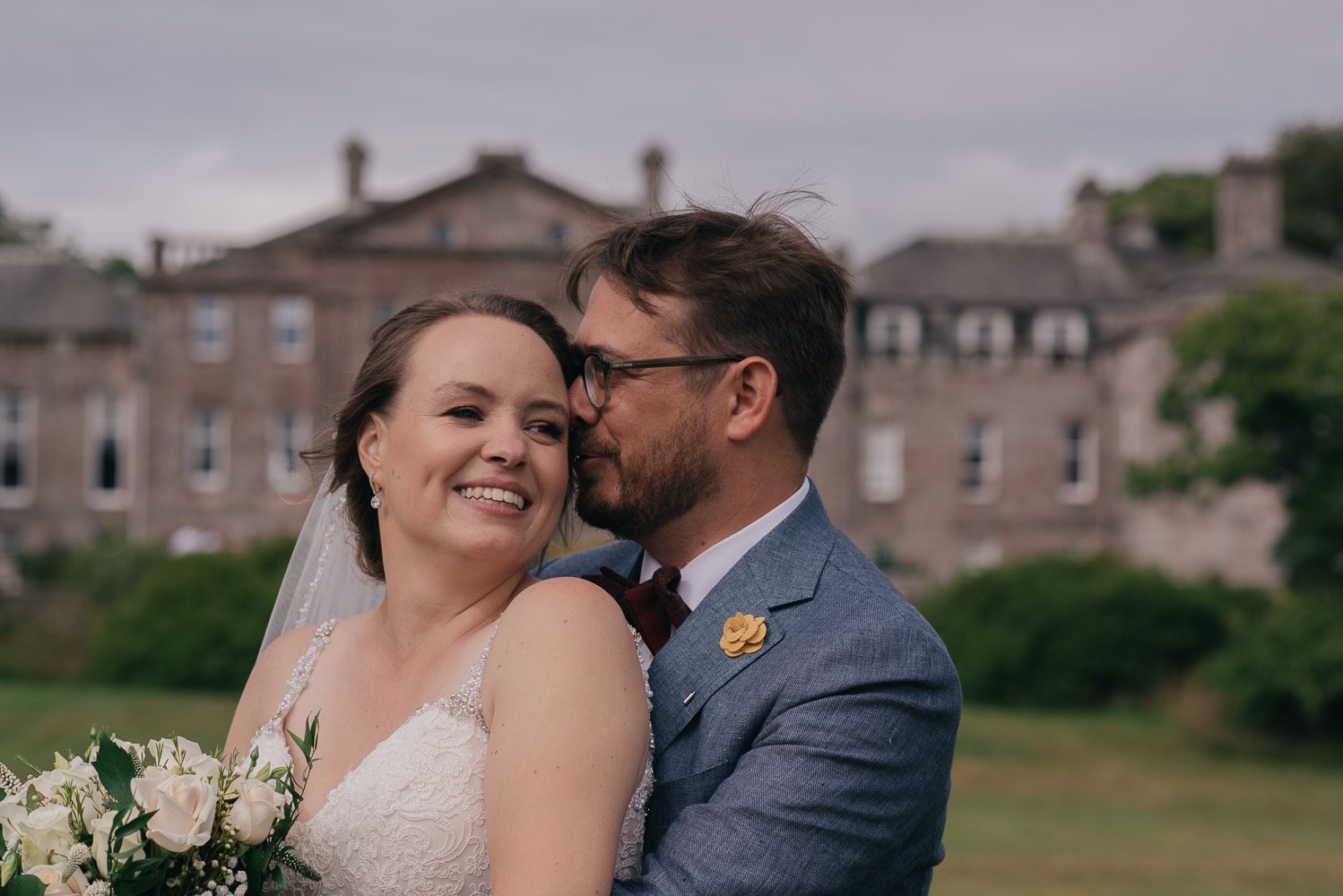 Scottish elopement wedding