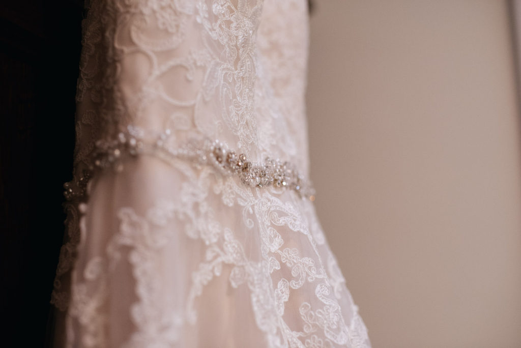Wedding dress | Lee Haggarty Photography